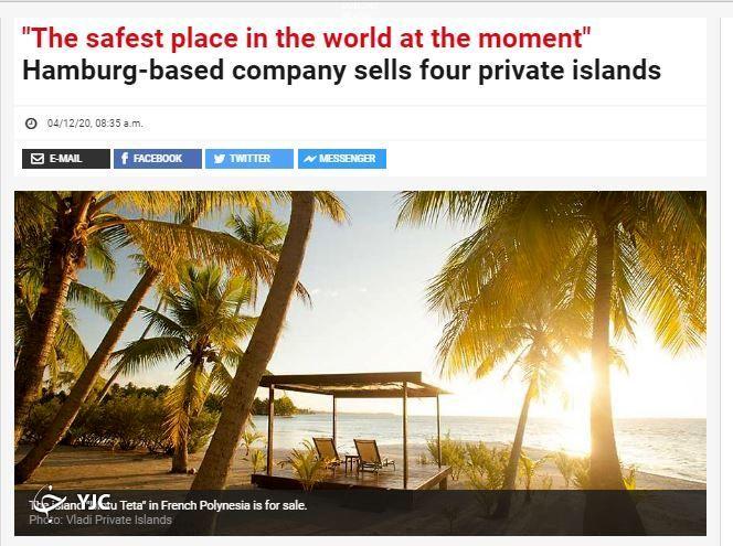 امنترین مکان در جهان در روزگار شیوع ویروس کرونا! + تصاویر