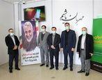 بازدید عضو هیأت مدیره و مدیر امور استانهای بانک مهر ایران از استان البرز