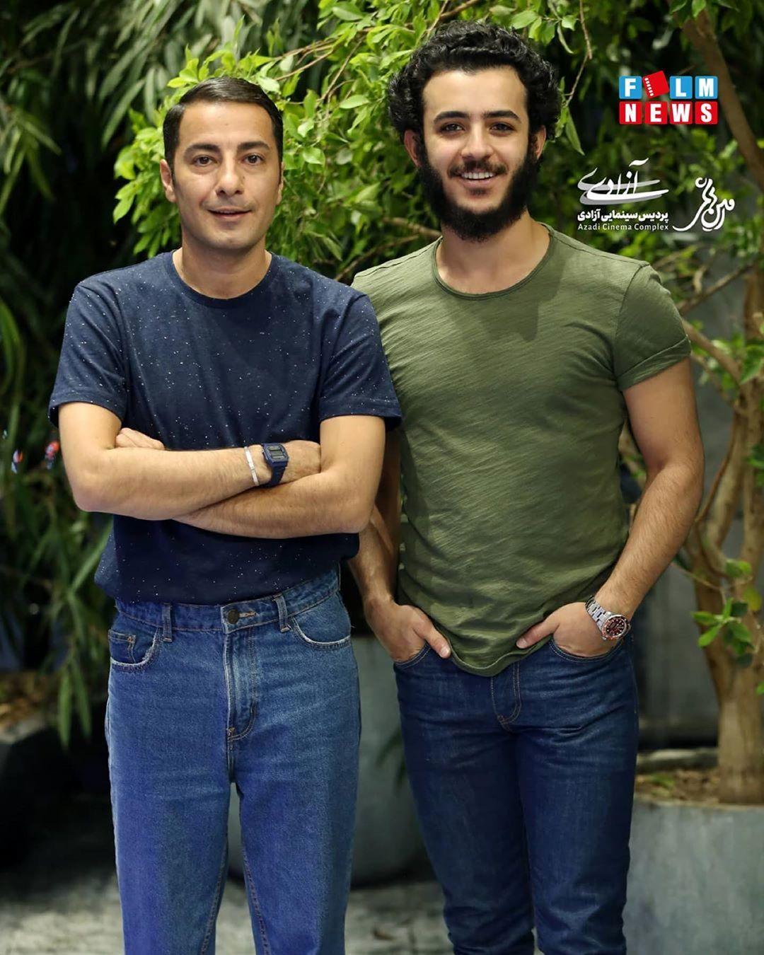 نوید محمدزاده و علی شادمان با ظاهری جدید/ عکس