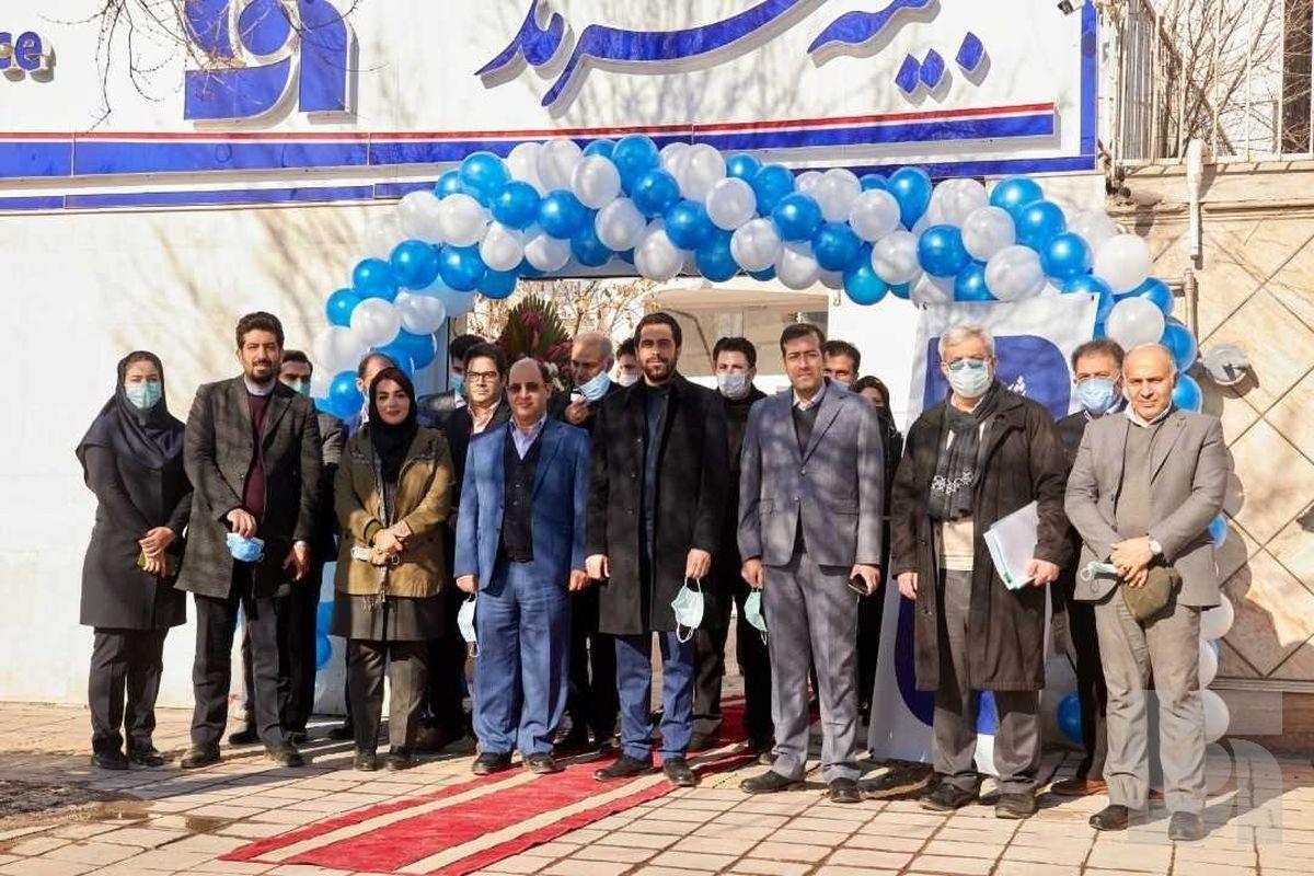 افتتاح ساختمان جدید شعبه سرمد در اردبیل