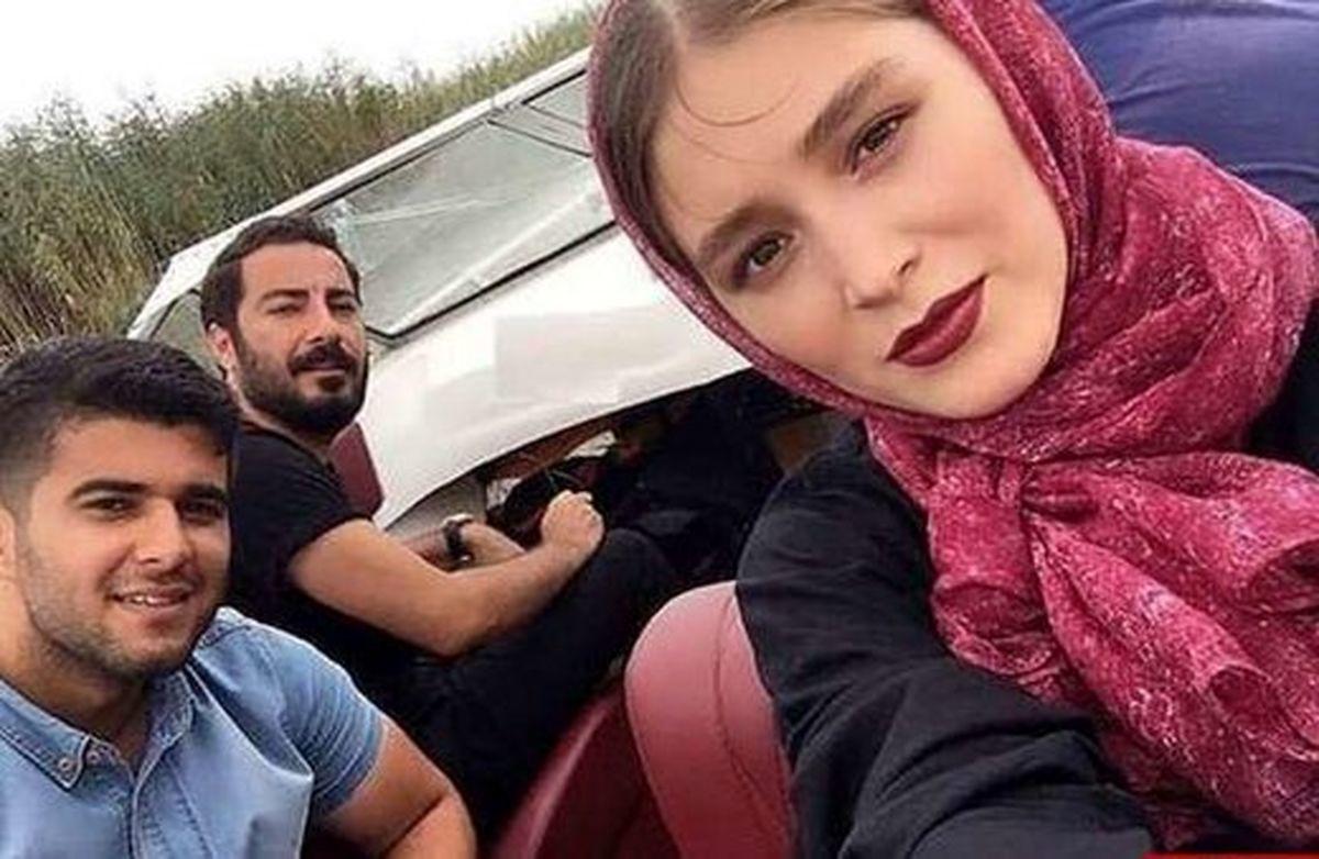 لباس ست نوید محمدزاده و همسرش + عکس