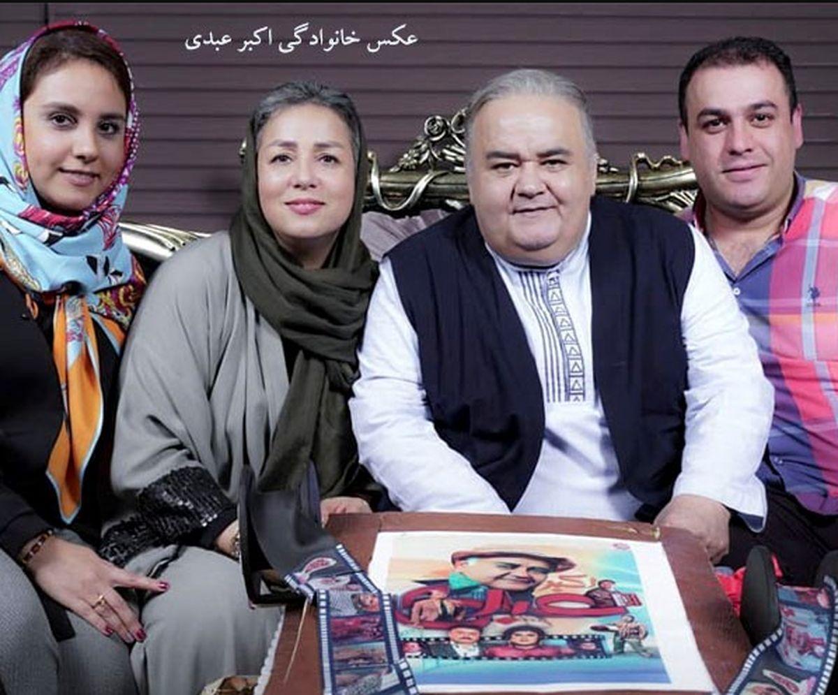 عکس باور نکردنی اکبر عبدی | اکبر عبدی یک شبه پیر شد