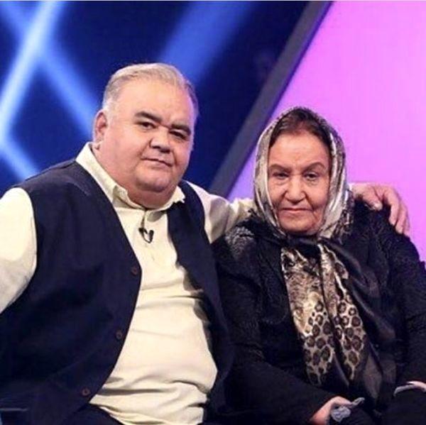 شباهت باورنکردنی اکبر عبدی به مادرش +عکس | نشان آنلاین