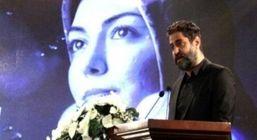 عکس لورفته از همسر مهناز افشار در مراسم چهلم آزاده نامداری + عکس
