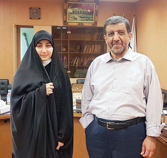 ضرغامی ازدواج دختر شهید سلیمانی را تایید کرد