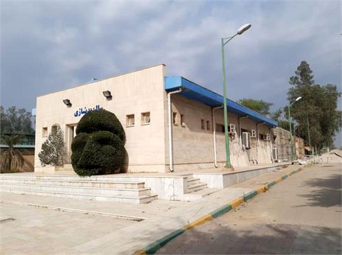 اقدامات اصلاحی و زیربنایی در مجموعه های تربیت بدنی فولاد خوزستان