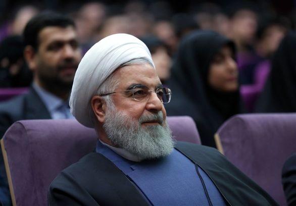 حضور روحانی در دانشگاه فرهنگیان +تصاویر