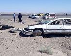 واژگونی خودروی دانش آموزان با ۵ مصدوم