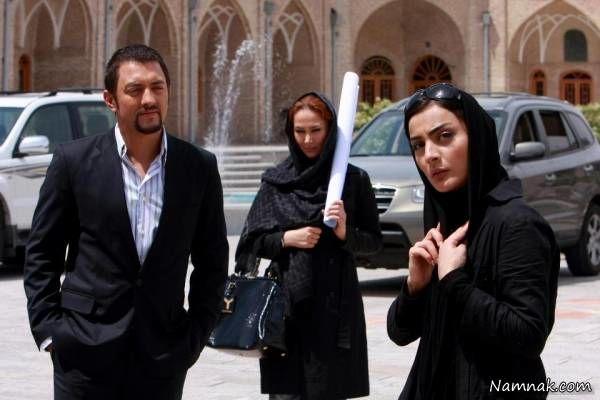 السا فیروز آذر ، بهرام رادان و آنا نعمتی