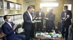 معارفه مدیر توسعه بازار و رییس مجتمع اشخاص بیمه البرز برگزار شد