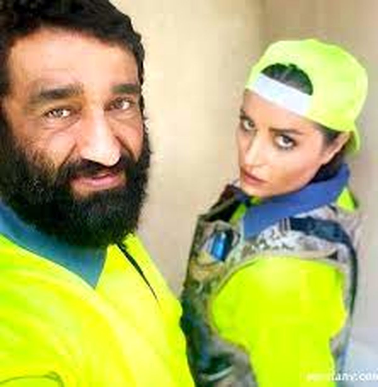 پژمان جمشیدی و همسر خارجی + عکس