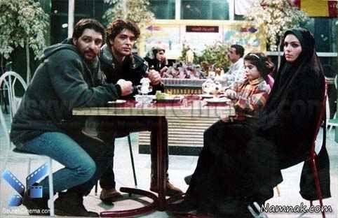 سارا خوئینی ها و یوسف مرادیان در فیلم دوستان