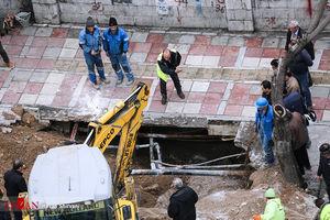 ۵ منطقه تهران دچار فرونشست زمین شد