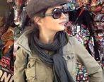 بازیگر معروف سریال دردسرهای عظیم در خارج از کشور کشف حجاب کرد + عکس