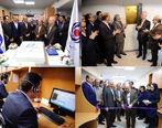 افتتاح مرکز ارتباط با مشتریان بانک ایران زمین