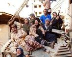تانک سواری بازیگران «پایتخت» در دل داعش! +عکس