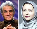 مهدی هاشمی و نازنین بیاتی در یک فیلم