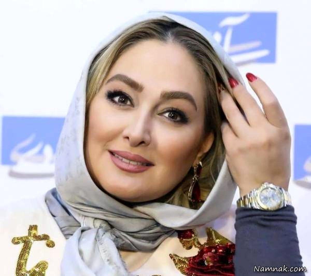 لاغری شدید الهام حمیدی بعد از زایمانش   عکس همسر ورزشکار الهام حمیدی