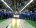 شکستن رکورد در ایران خودرو با تولید 2300 دستگاه خودرو