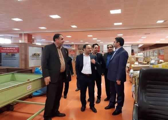 افزایش ظرفیت توسعه خدمات پستی در فرودگاه امام خمینی (ره) بررسی شد