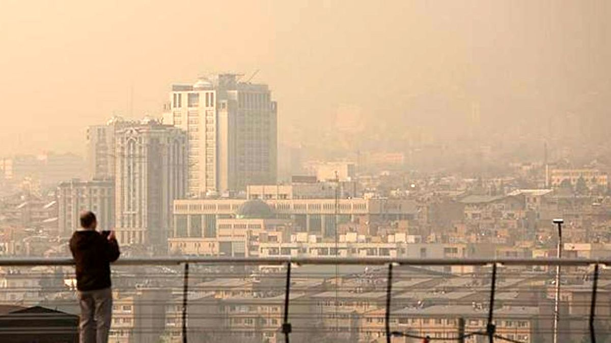 تداوم آلودگی هوا در شهرهای پرجمعیت