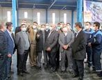 افتتاح قوطی سازی سینا کن در کرمانشاه