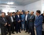 نمایشگاه توسعه ساخت داخل (بومیسازی) فولاد خراسان گشایش یافت