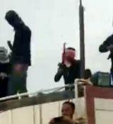 مردان مسلح مراسم فاتحه خوانی در هندیجان را بهم ریختند + ویدئو
