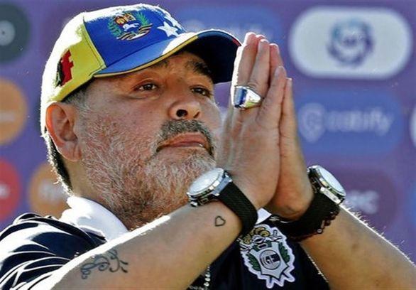 مارادونا:همه اموالم را وقف میکنم