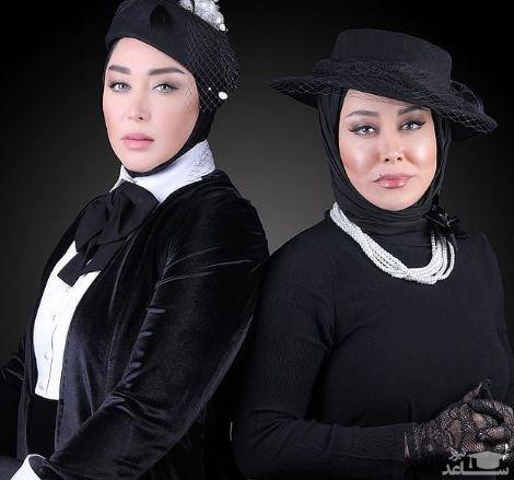 آشا محرابی و سارا منجزی پور