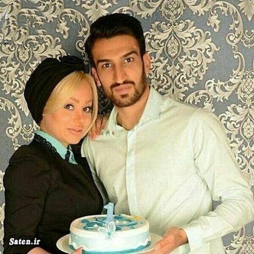 ماجرای آشنایی و ازدواج حسین ماهینی و همسرش + تصاویر جنجالی