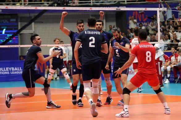 ساعت بازی والیبال ایران و امریکا | چهارشنبه 17 مهر + پیش بازی