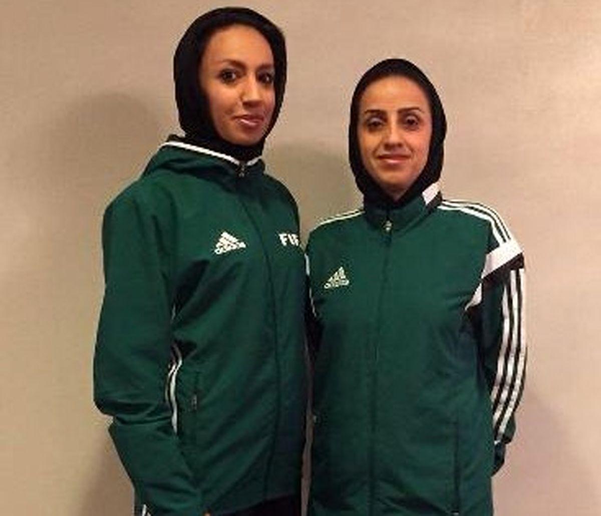 قضاوت بانوان ایرانی در مسابقات فوتبال المپیک ۲۰۲۰