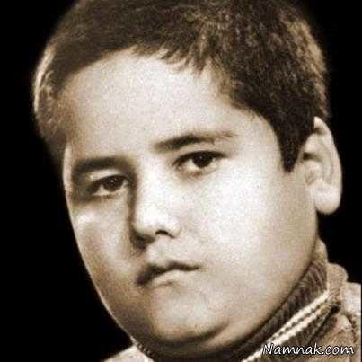 کودکی اکبر عبدی