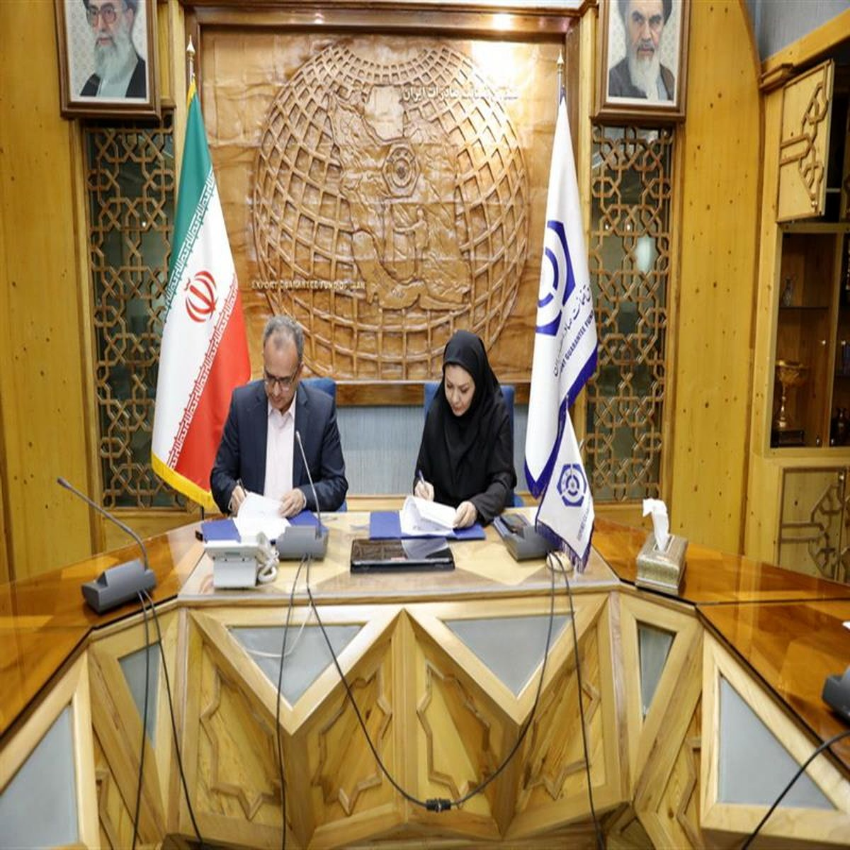 پشتیبانی صندوق ضمانت صادرات ایران از توسعه صادراتی صنعت آب و برق