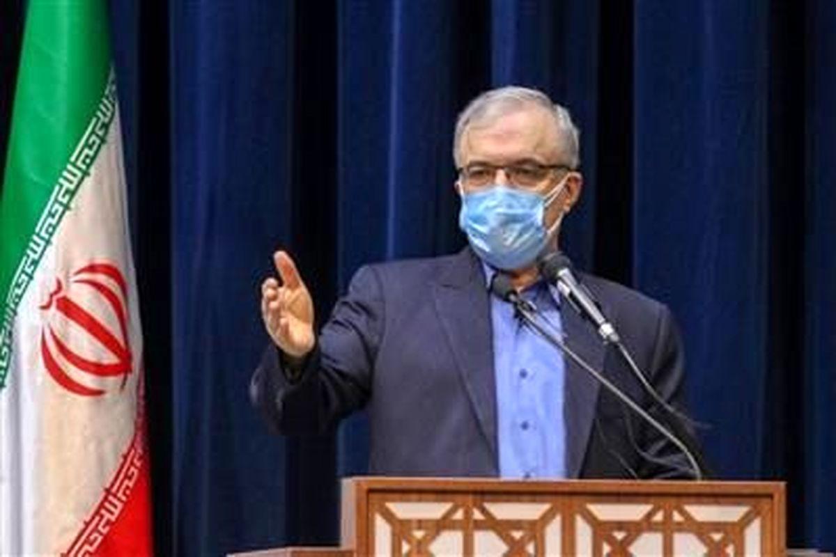 تقدیر وزیر بهداشت از فولادمبارکه