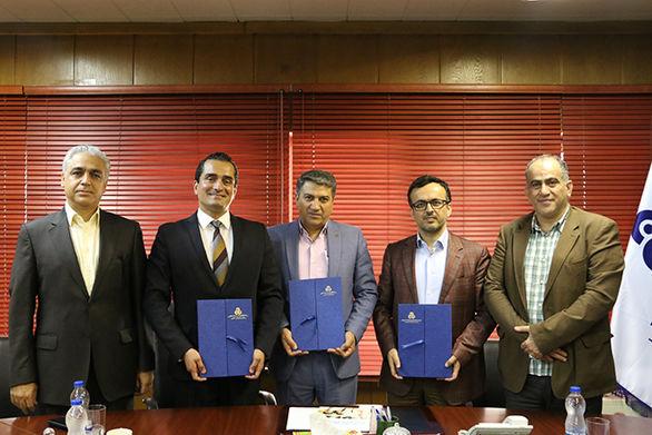 امضا تفاهم نامه سه جانبه سازمان مدیریت صنعتی، دانشگاه بین المللی چابهار و دانشگاه FHM آلمان