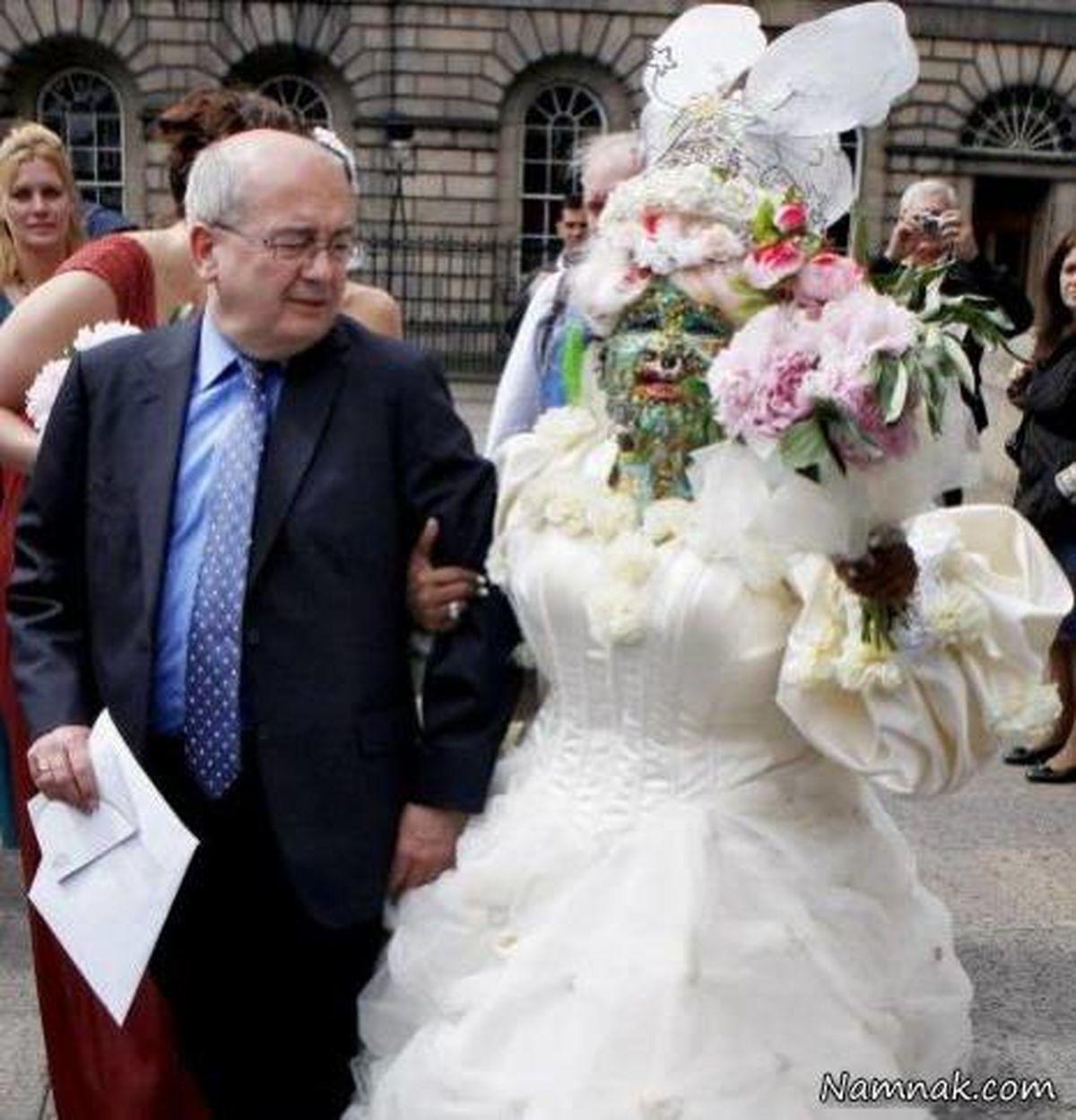 وحشتناک ترین عروس دنیا