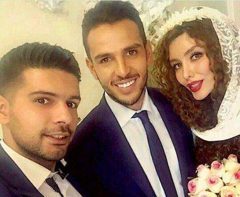 عکس های لو رفته از مراسم ازدواج کریمی با خانم بازیگر + بیوگرافی و تصاویر