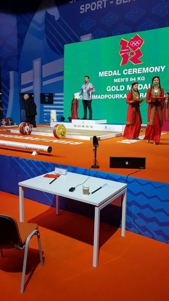 طلای المپیک ۲۰۱۲ امروز به وزنهبردار ایرانی رسید