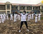 رقص زومبا توسط پرستاران برای تقویت روحیه + فیلم و تصاویر