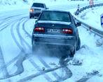 جادههای ۱۳ استان کشور برفی و بارانی است