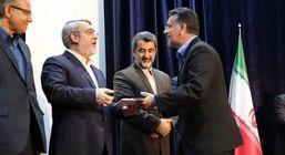 تجلیل وزیر کشور از بانک ملت به عنوان بانک برگزیده استان زنجان