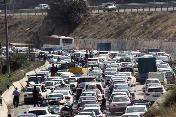 آخرین وضعیت ترافیکی راههای کشور در ۸ فروردین ۹۸