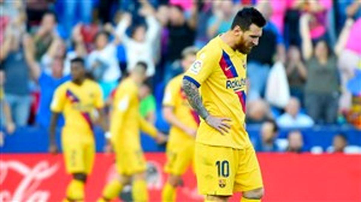 بارسلونا مساوی کرد / سردار و یارانش باختند