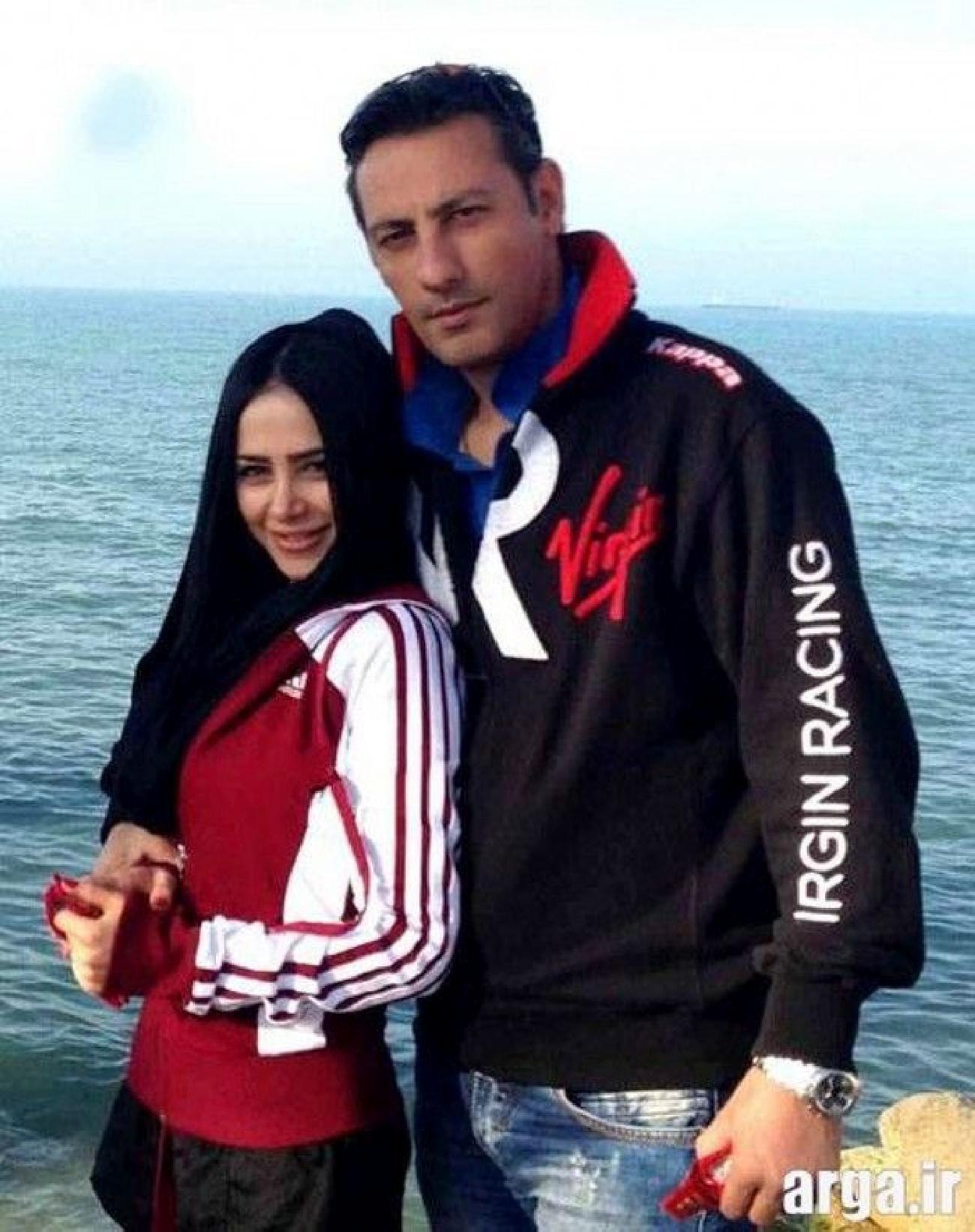 عکس های جنجالی الناز حبیبی و همسرش لب دریا + تصاویر و بیوگرافی