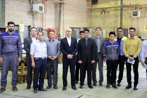 دیدار نوروزی مدیر عامل شرکت پتروشیمی بوعلی سینا با کارکنان