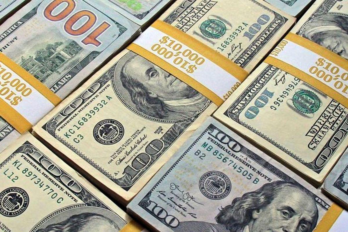 ریزش شدید دلار