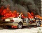 فیلم عجیب از آتش زدن خودرو ها در تهران | فیلم آتش زدن خودرو