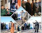 مراسم یادبود شهادت سردار شهید قاسم سلیمانی در شرکت فولاد سنگان